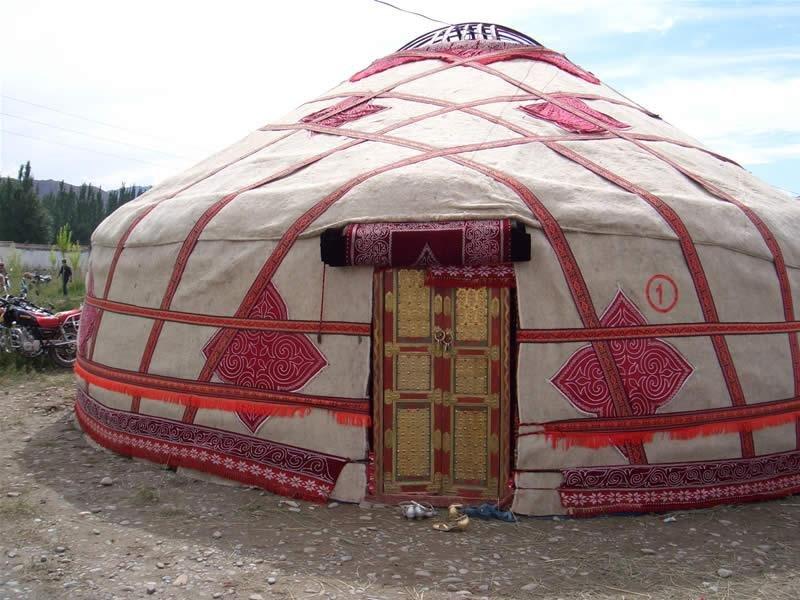 Кыргызская юрта