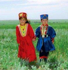 Калмыцкие дети
