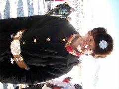 Пояс и тусахта в костюме наймана из МОнголии