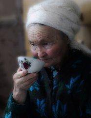 Пожилая казачка