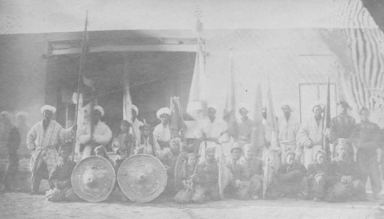 Войска гос-ва Йаттишар, кон.19в
