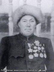 Гени Батур (Маметбакиев), герой ВТР.