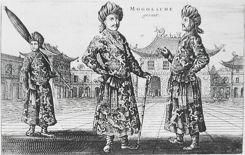 Турфанские послы в Пекине, сер. 17в.