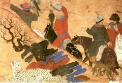 Казахи 16 век, картинка с Восточного Туркестана