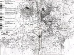 Карта расселения южных кыргызов