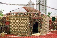 Туркменская юрта