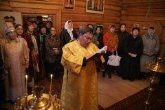 Богослужение в Соттинской церкви