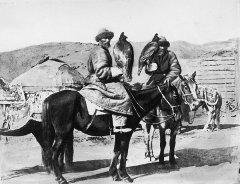 Казахи Юго-Западной Сибири, беркутчи, 1876 г.