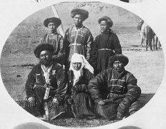 Казахи Юго-Западной Сибири, 1876 г.