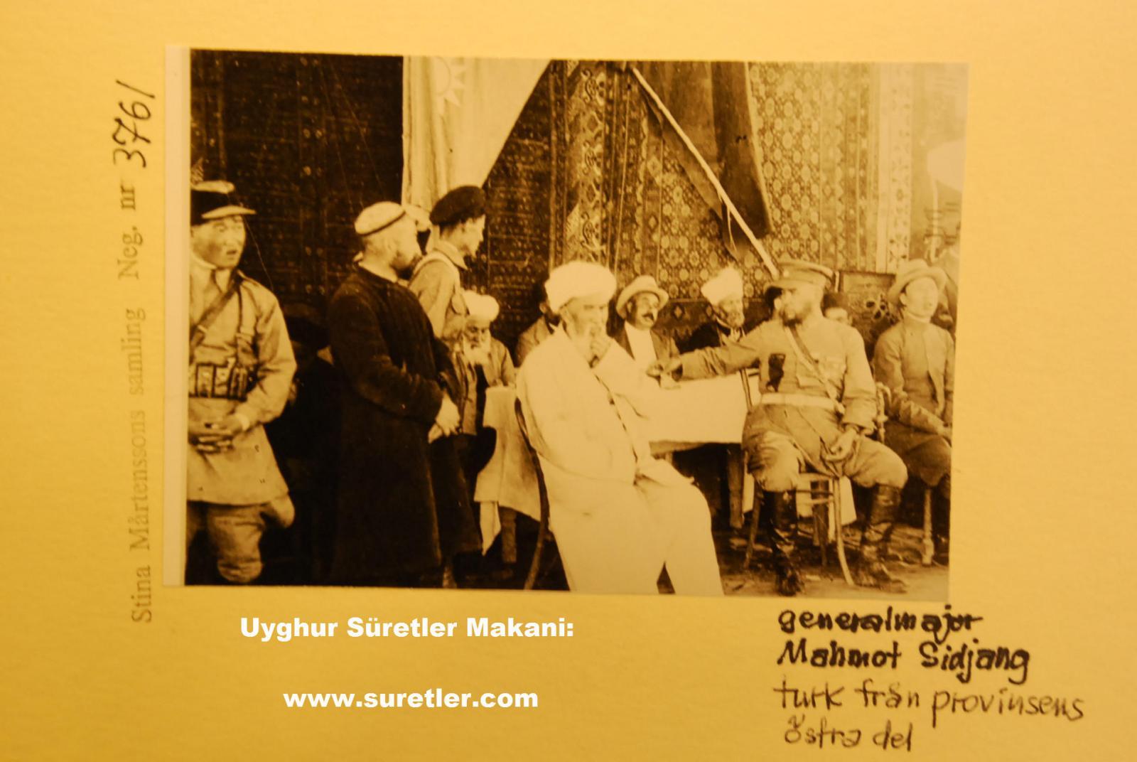 Генерал 30-х годов Махмут Мухити