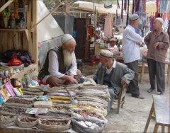 Аксакал на базаре