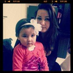Моя сестренка с дочкой