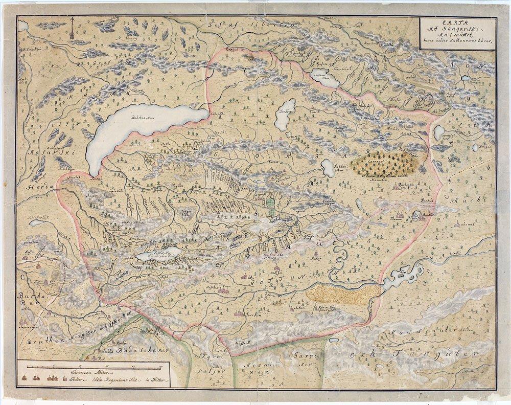 Карты Евразии