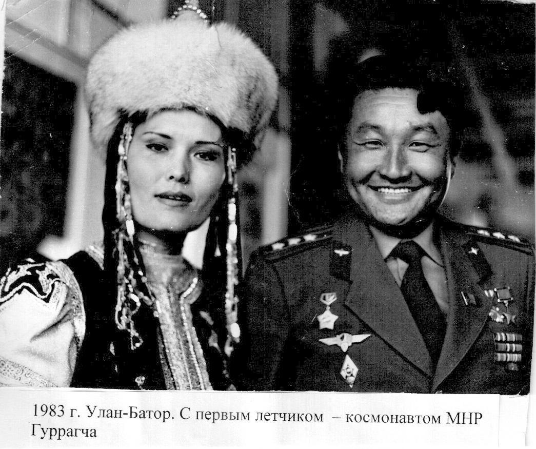 Бурятская актриса Лариса Егорова , Бальжин хатан