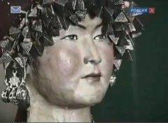 реконструкция хазарской женщины из элитного сословия