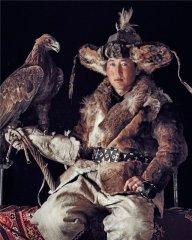 казахский беркутчи из баян-ульгея