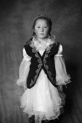 казахская девочка из баян-ульгея