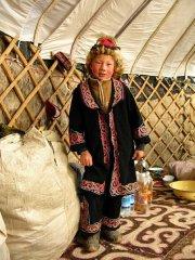 казахский мальчик из монголии