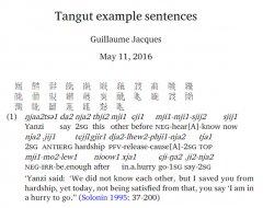 Тангутские слова