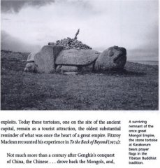 Каменная черепаха из Каракорума