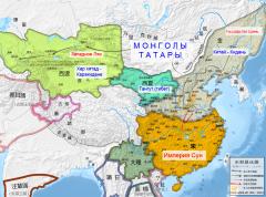 2 Qidan и Монголо-татары