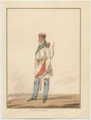 «Башкир», акварель Финарда Давида Ноэля Дьедонне. 1815 г.