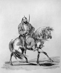 Р. К. Портер, гравировал Дж. К. Стадлер. Башкирский генерал.1809 г.
