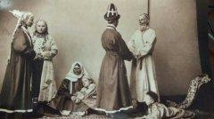 Башкиры. Этнографическая выставка в Москве. 1867 год.