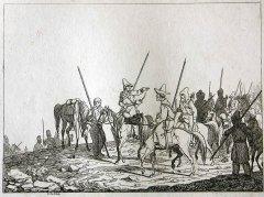 Heinrich Cotta. Russische Kosaken und Baschkiren