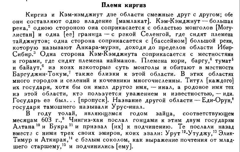 Енисейские кыргызы
