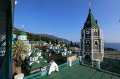 Русские на Афоне (монастырь Св. Пантелеймона).jpg